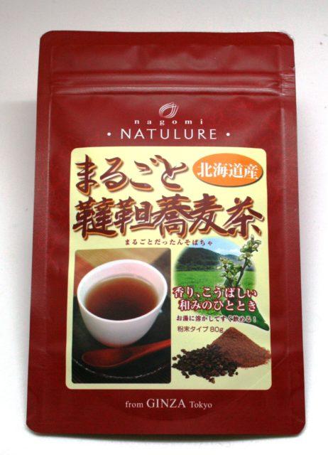 なごみナチュルアまるごと韃靼蕎麦茶で作る簡単ラテの画像