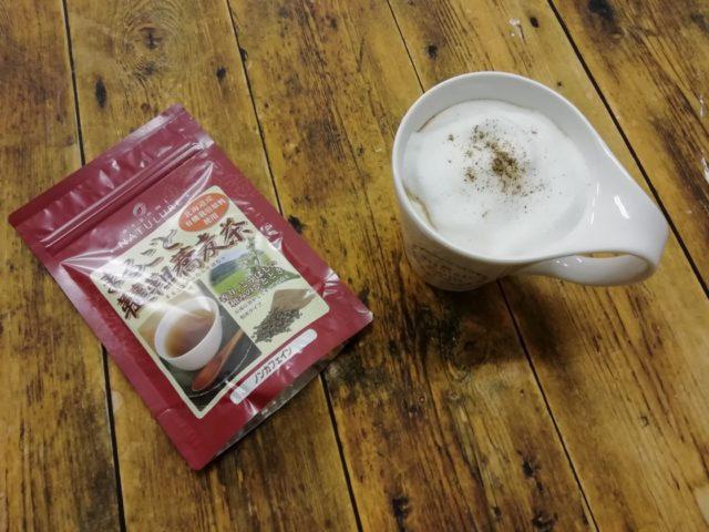 ブログ更新のお知らせ~まるごと韃靼蕎麦茶の簡単アレンジティーの画像